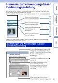 Sony NEX-C3A - NEX-C3A Consignes d'utilisation Allemand - Page 2