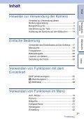 Sony NEX-C3A - NEX-C3A Consignes d'utilisation Allemand - Page 3