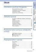 Sony NEX-C3A - NEX-C3A Consignes d'utilisation Slovaque - Page 3