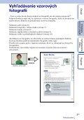 Sony NEX-C3A - NEX-C3A Consignes d'utilisation Slovaque - Page 5