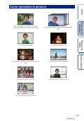 Sony NEX-C3A - NEX-C3A Consignes d'utilisation Italien - Page 6