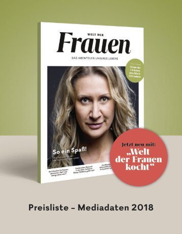 Welt der Frauen_Mediadaten_Anzeigenpreisliste_2018_Webversion