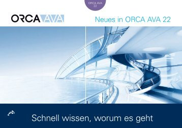 ORCA AVA 22 - Neu in dieser Version