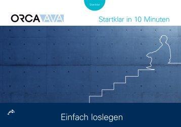 Startklar mit ORCA AVA 22