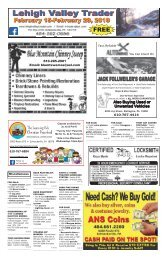 Lehigh Valley Trader February 15-February 28, 2018 issue