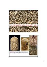 12. Artes Decorativas califales y TAIFAS.  copia