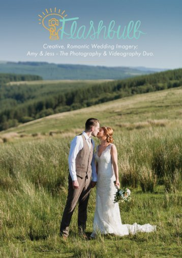 Wedding photography videography brochure