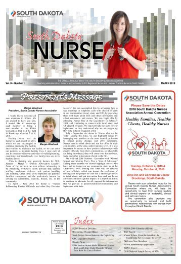 South Dakota Nurse - March 2018