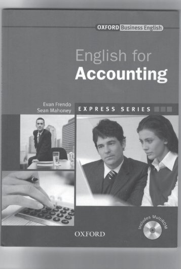 English for accounting - students book