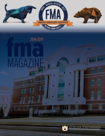 FMA Annual Review 2017