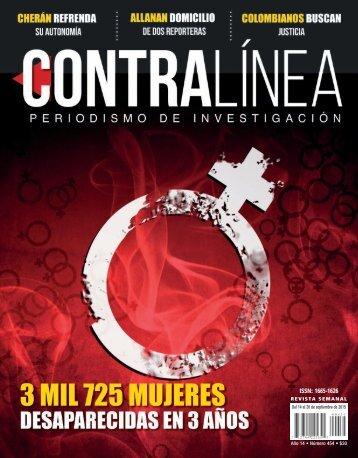 Contralínea 454