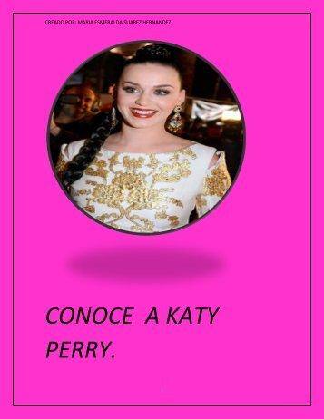 conoce a katy perry.