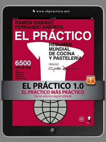 eBook Demo EL PRACTICO - 6500 recetas - Ramon Rabasó - Cooking Books