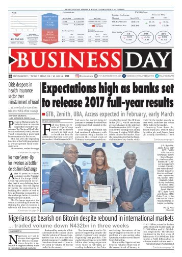 BusinessDay 13 Feb 2018