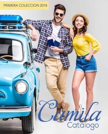 Catalogo Camila 1 coleccion 2018