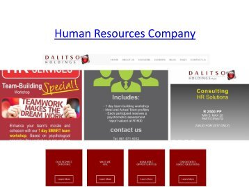 Human Resources Company
