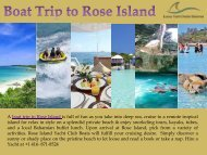 Boat Trip to Rose Island