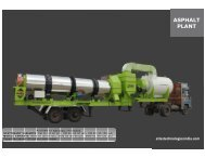 small mobile asphalt plant - Atlas Technologies