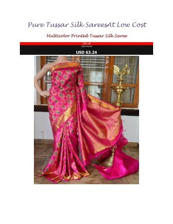Pure_Tussar_Silk_Sarees_At_Low_Cost