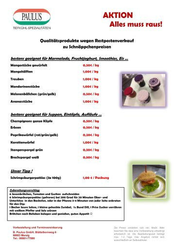 Flyer AKTIONneu