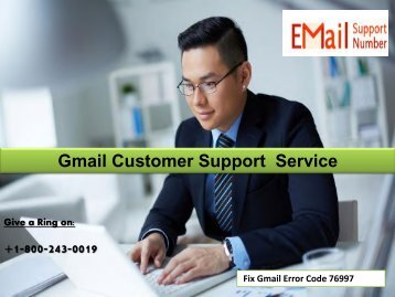 18002430019 Fix Gmail Error Code 76997