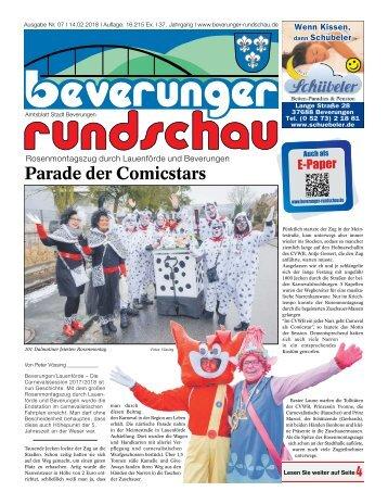 Beverunger Rundschau 2018 KW 07