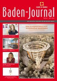 Baden-Journal Februar - April 2018