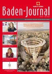 Baden-Journal Februar - April 2018