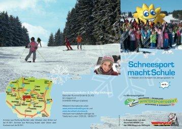 Schneesport macht Schule - Sommerrodelbahn Willingen