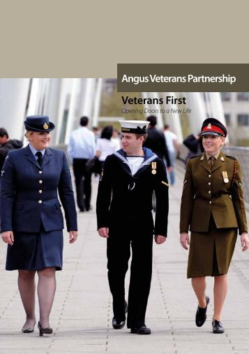 Veterans First - Opening Doors to a New Life - Angus Council