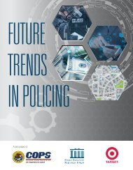 future trends in policing 2014