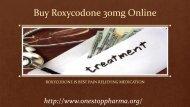 Buy Roxycodone 30mg Online