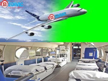 At Low-Cost Air Ambulance in Kolkata with Doctor Facility