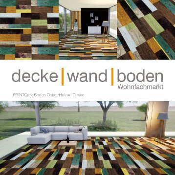 dwb Produktinformation PrintCork Boden Desire