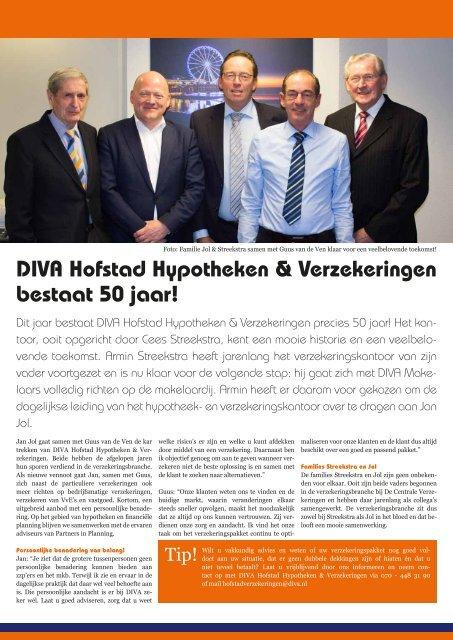 DIVA Hofstad uw partner in hypotheken en verzekeringen
