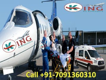 King Air Ambulance Services from Delhi to Mumbai