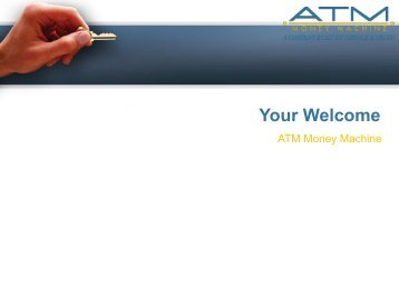 -ATM Machines for Sale