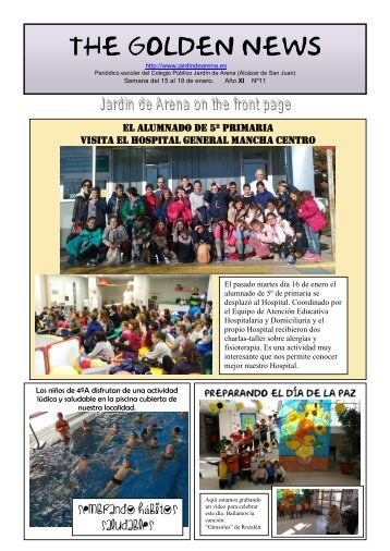 THE GOLDEN NEWS. Nº 11. 2017/2018