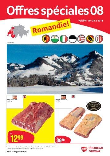 Offres spéciales 08 Romandie FR
