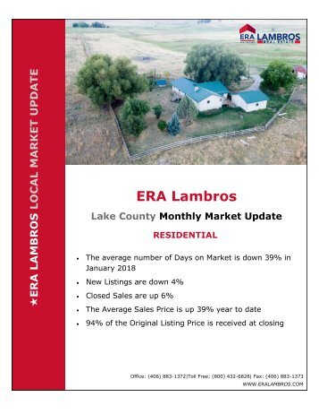Lake County Residential Update - January 2018