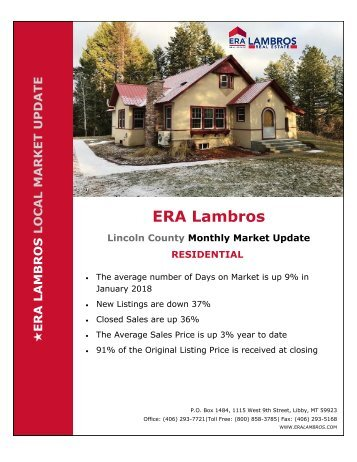 Licoln County Residential Update - January 2018