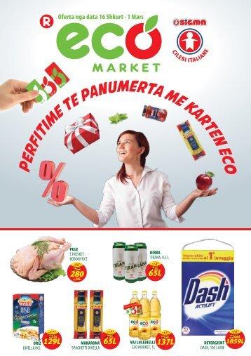Eco Market 16 Shkurt - 1 Mars