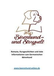 Jörg`s Bärenhund- und Storywelt
