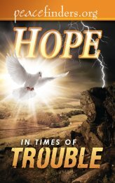 Hope In Times Of Trouble