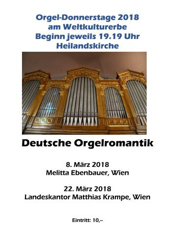 Orgel-Donnerstag