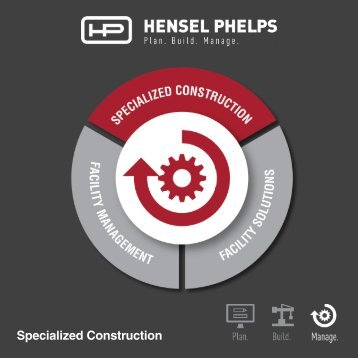 Hensel Phelps Services - Specialized Construction - Digital Brochure