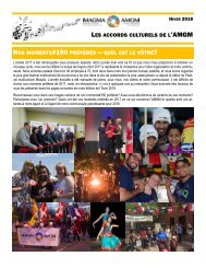 Bulletin de l'AMGM - Hiver 2018 - FR