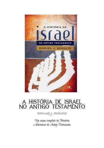 a historia de israel no antigo testamento