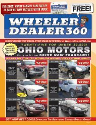 Wheeler Dealer 360 Issue 7, 2018