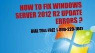 How to Fix Windows Server 2012 R2 Update Errors 18002201041